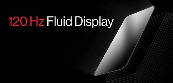 OnePlus 120Hz Fluid Display